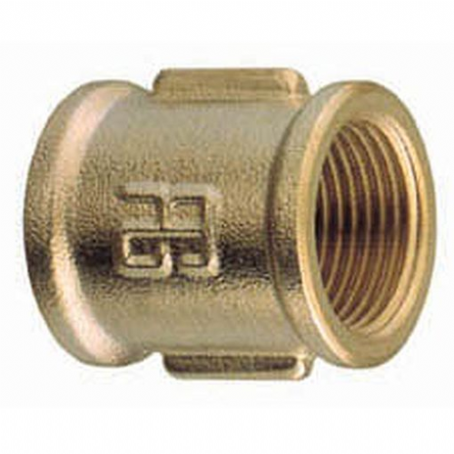 Parallel Female Equal Brass Socket BSP